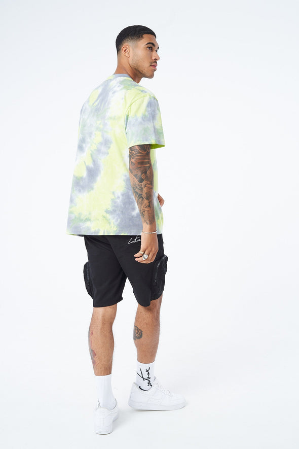 SIGNATURE RELAXED FIT TIE DYE T SHIRT