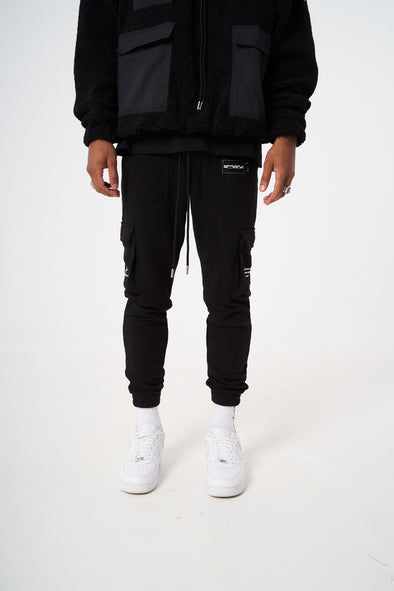 SLIM FIT JERSEY CARGO PANT