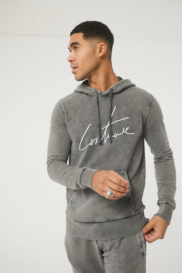 ESSENTIAL SIGNATURE SLIM FIT HOODIE