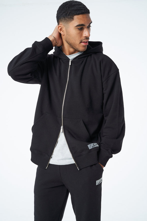 ESSENTIALS RELAXED ZIP THROUGH HOODIE