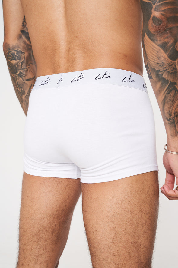 1 PACK SIGNATURE REPEAT WHITE BOXERS
