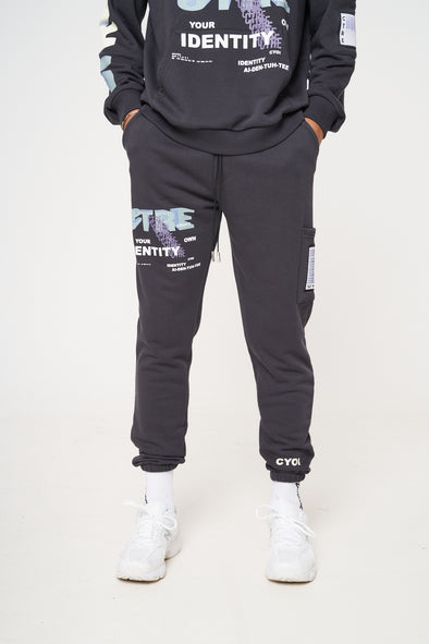 CTRE GRAPHIC PRINTED RELAXED FIT JOGGER