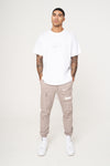REFLECTIVE REVERSE PRINT RELAXED FIT T-SHIRT
