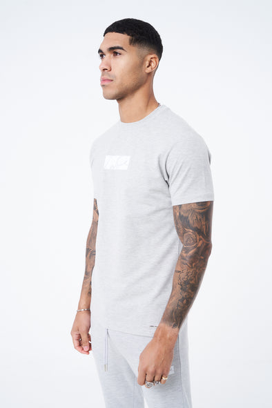 FLOCK PRINT SLIM FIT SIGNATURE T-SHIRT