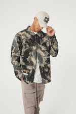 WATERCOLOUR CAMO SHACKET