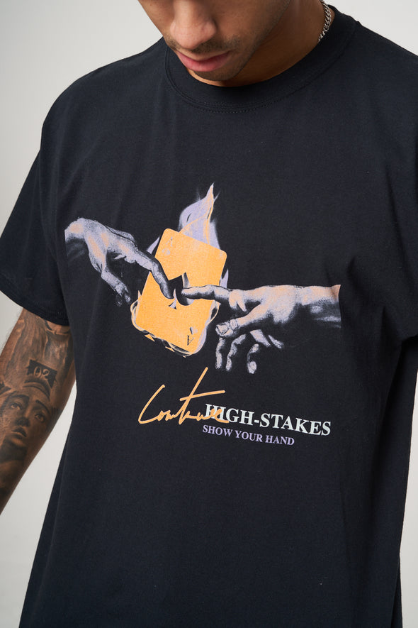 HIGH STAKES GRAPHIC T-SHIRT