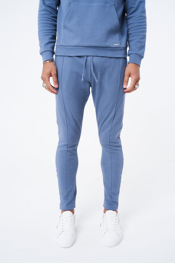 TEXTURED ESSENTIAL SLIM FIT JOGGERS