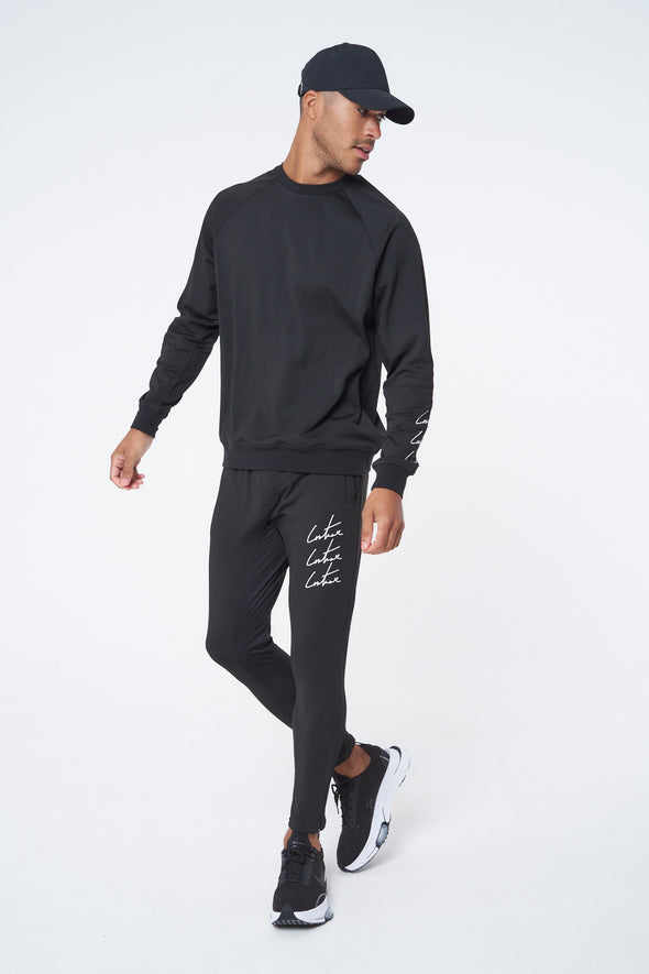 ACTIVE RAGLAN CREW NECK SWEATSHIRT