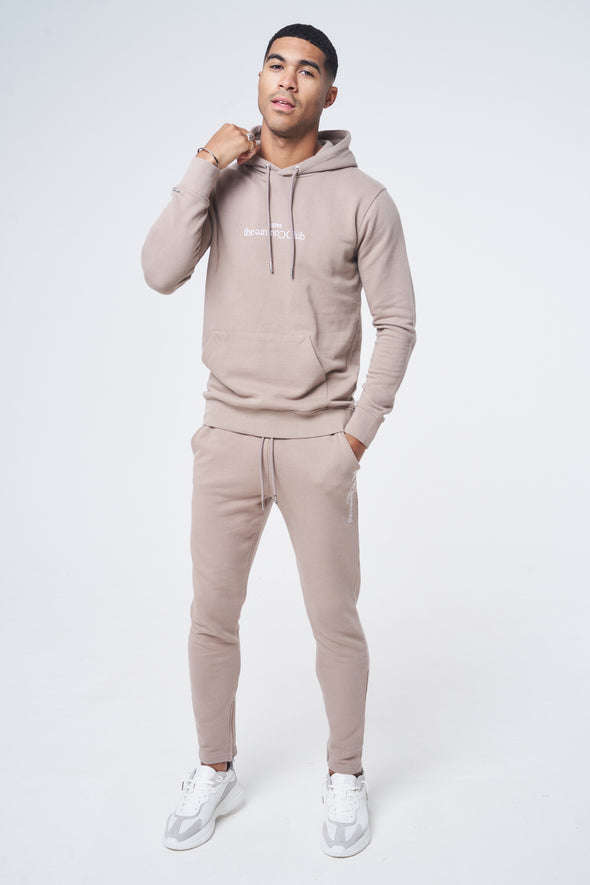 SLIM FIT EMBROIDERED JOGGERS