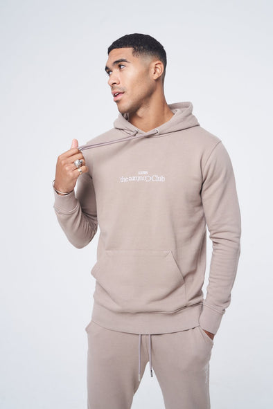 ENZYME WASH SLIM FIT HOODIE