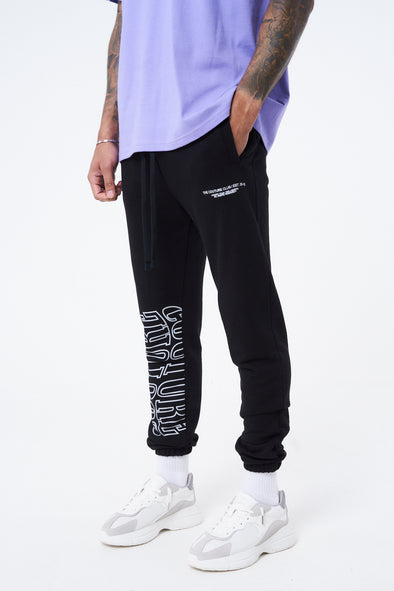 COUTURE WAVE PRINT RELAXED JOGGER