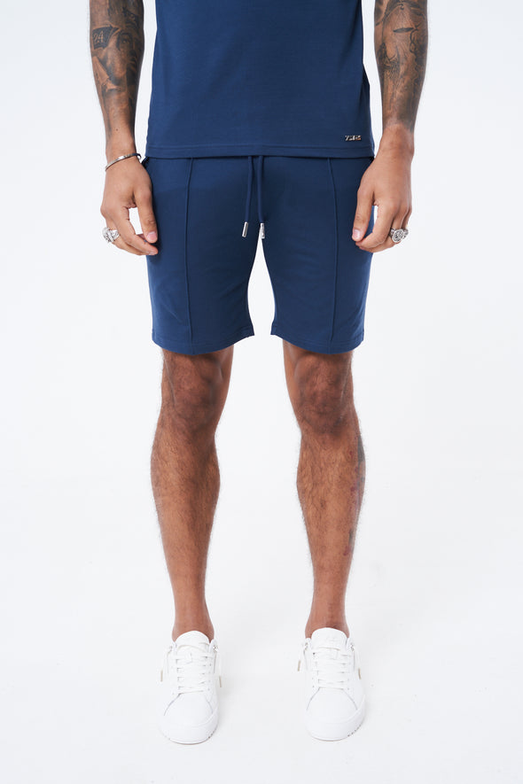FLOCK DETAIL SHORTS