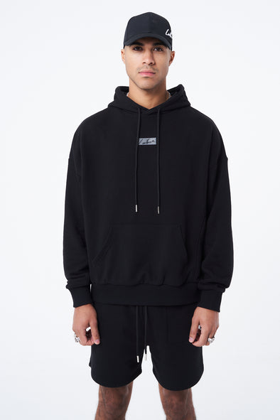 RELAXED FIT TWINSET HOODIE