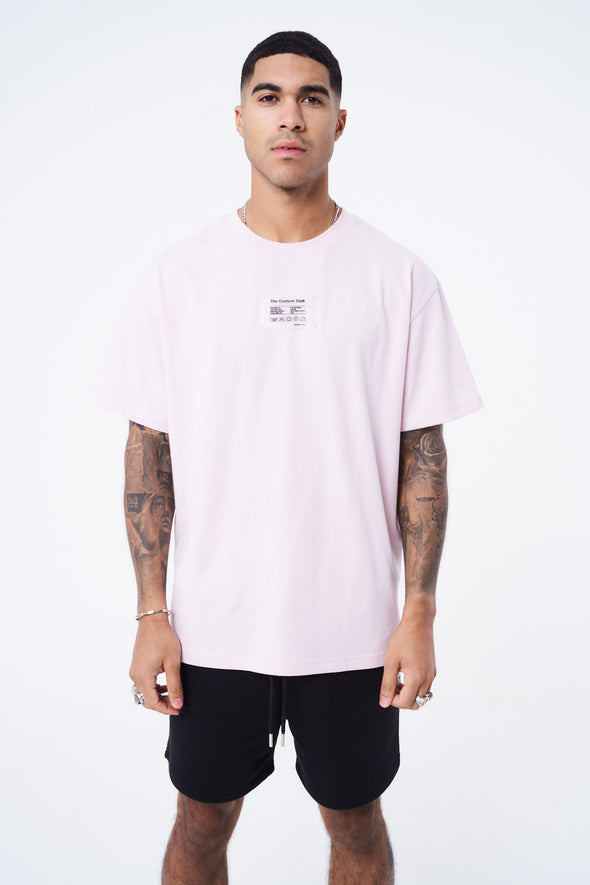 CARE LABEL GRAPHIC TEE