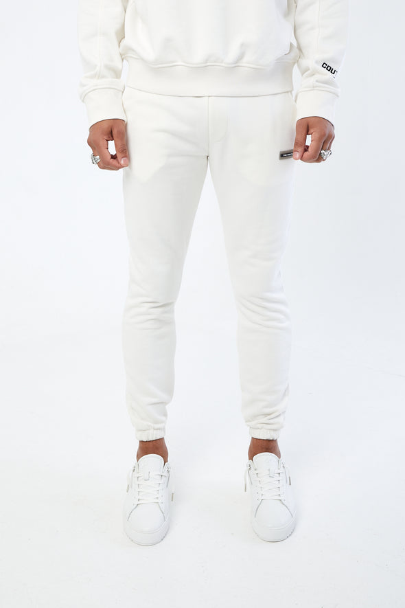 MINIMAL EMBROIDERED SLIM JOGGER