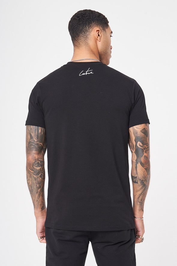 COUTURE ARCHIVE BLACK T-SHIRT