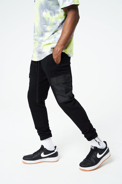 CONTRAST POCKET FITTED CARGO JOGGERS