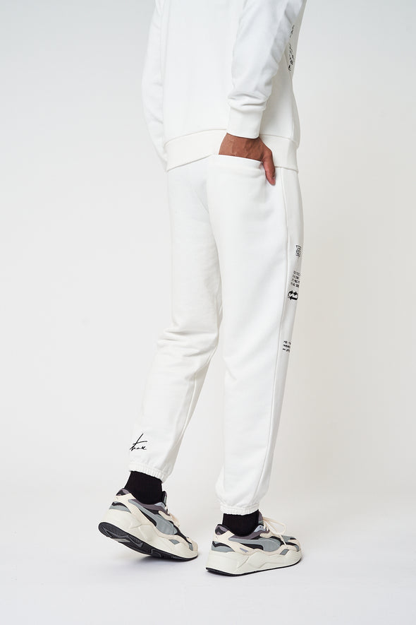 PREMIUM MULTI BADGED OVERSIZED JOGGERS