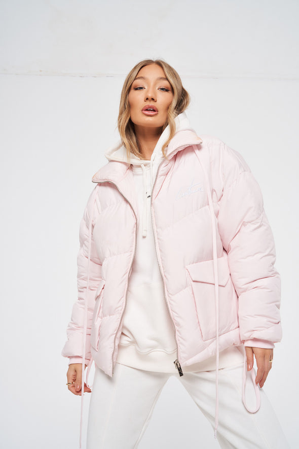 ESSENTIAL SIGNATURE PUFFER JACKET