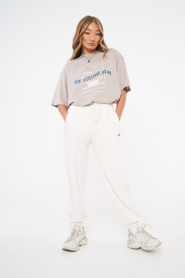 WAVE STAMP OVERSIZED T-SHIRT