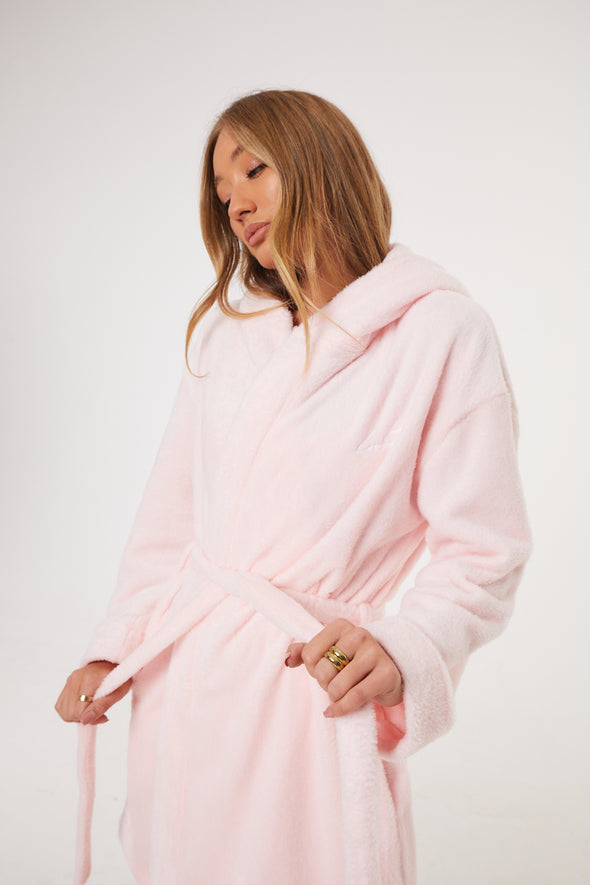SIGNATURE COSY FLEECE DRESSING GOWN