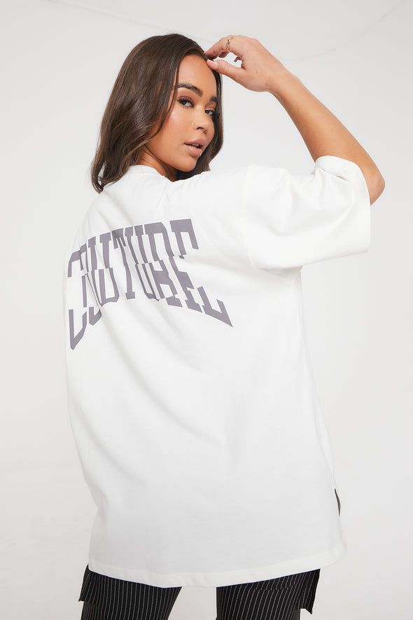 COUTURE VARSITY OVERSIZED TEE