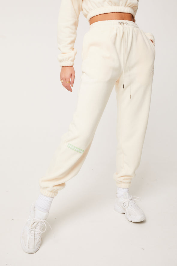 RETRO FLEECE OVERSIZE JOGGERS
