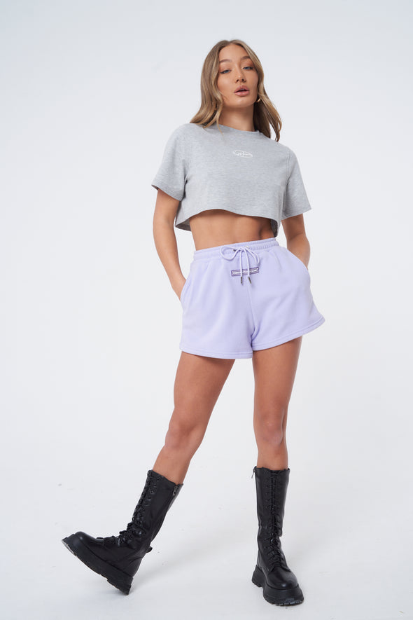 WAVE LOGO CROPPED T-SHIRT