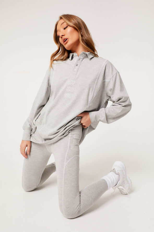 OFF THE GRID OVERSIZED RUGBY SHIRT