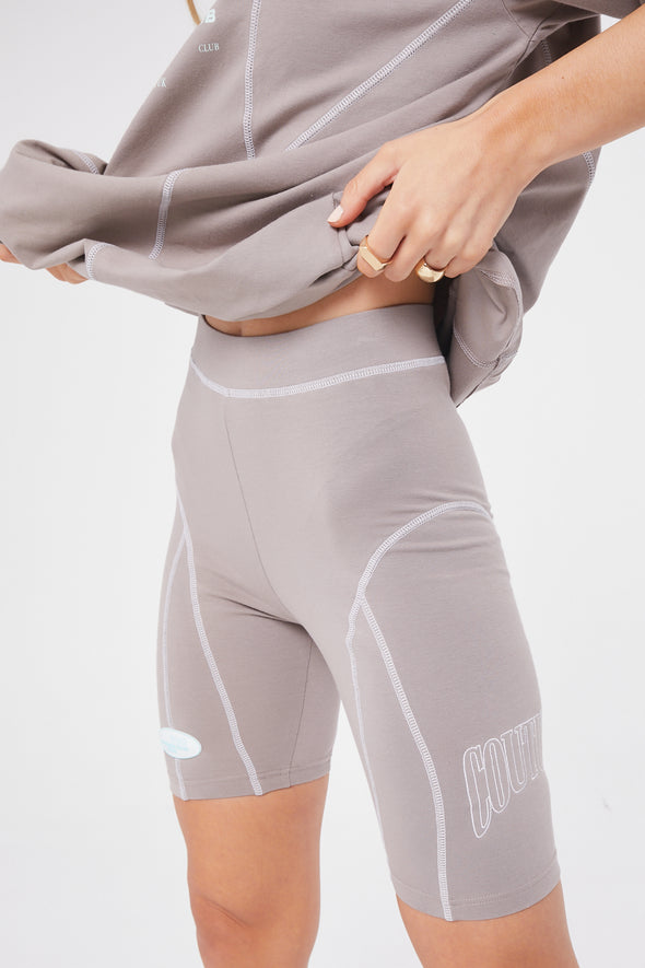 COUTURE OVERLOCK CYCLING SHORTS