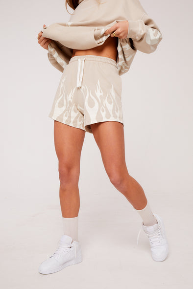 FLAME OVERSIZED SHORTS