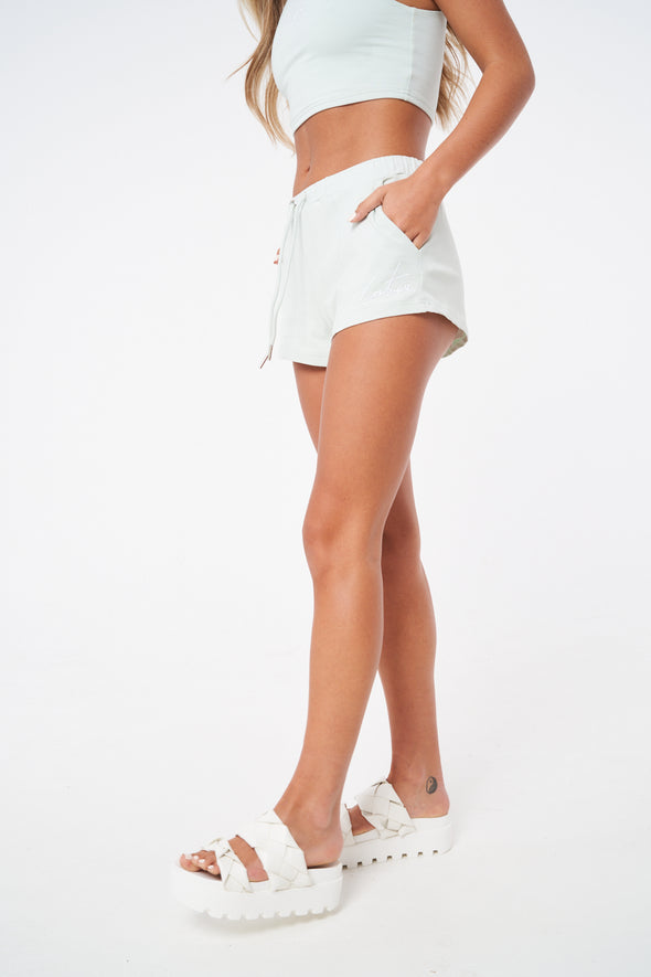 ESSENTIAL FITTED MINI SHORTS