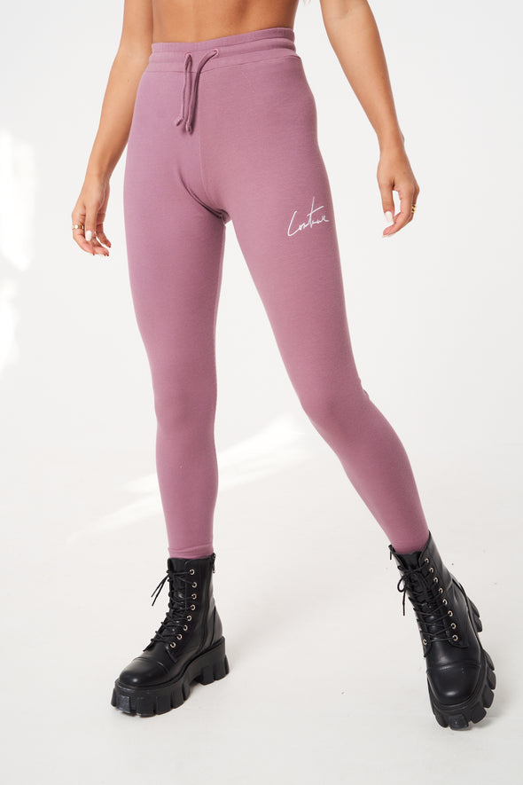 SIGNATURE RIBBED LEGGING