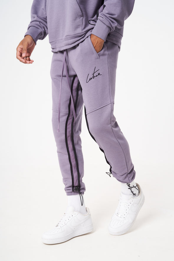 HEAVY WEIGHT RUCHED DETAIL JOGGERS