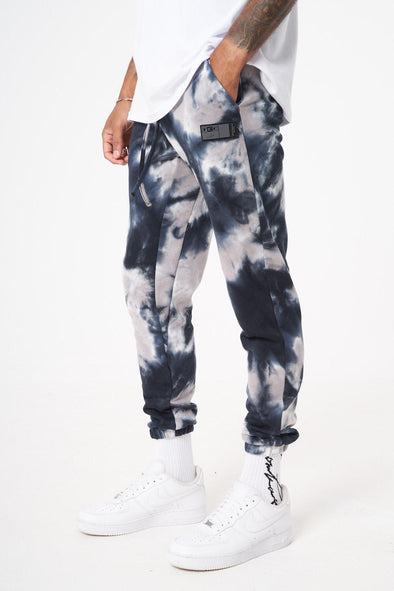 MARBLE WASH RELAXED FIT JOGGER