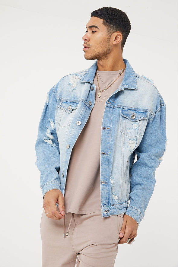 COUTURE SIGNATURE DENIM JACKET
