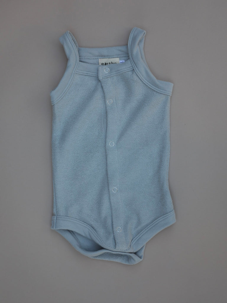 Terry Bodysuit  / Powder Blue