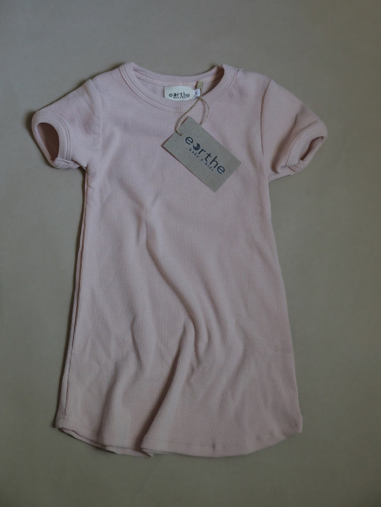 The T-Shirt Dress / Blush
