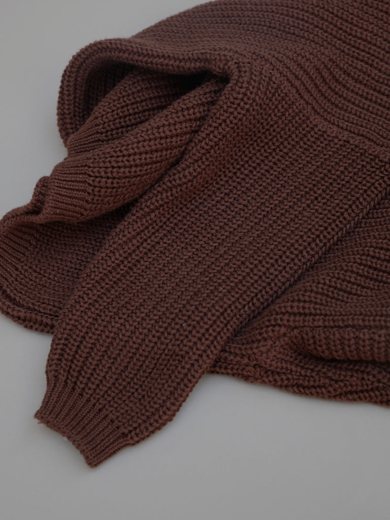 Knit Sweater / Rust