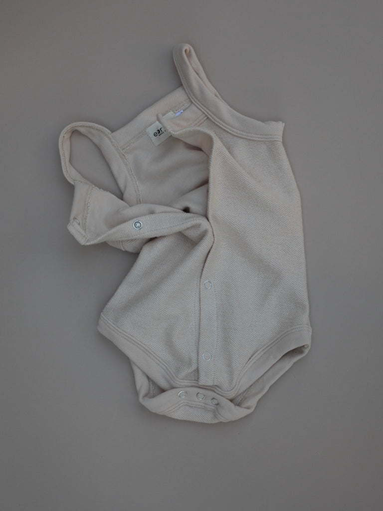 Terry Bodysuit  / Wheat