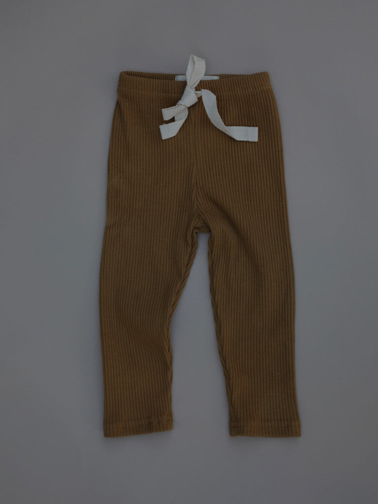 Ribbed Pants / Gingerbread