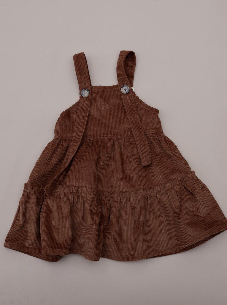 Corduroy Dress / Cinnamon