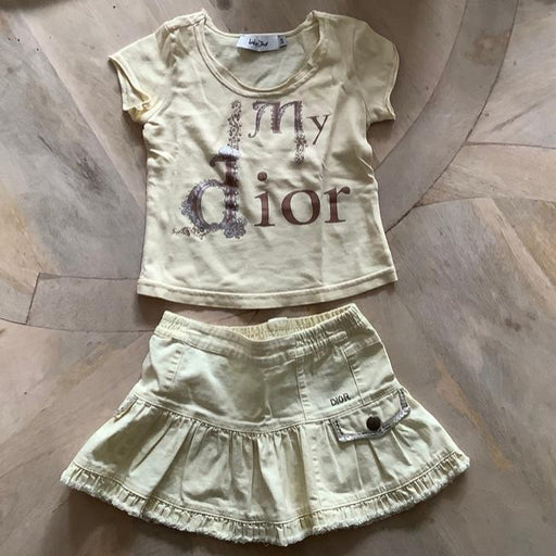 Baby Dior Skirt & Top 2 years old