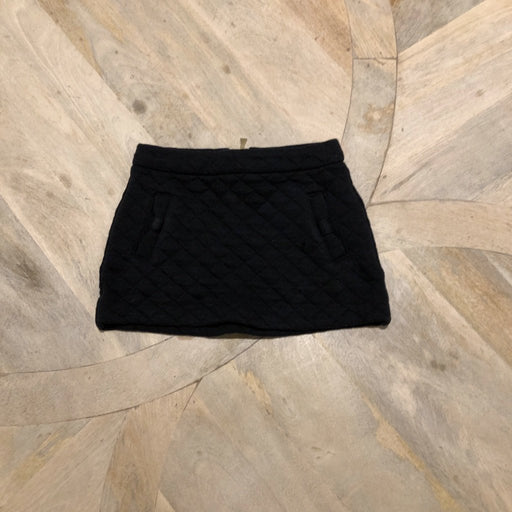 Kate Spade Black Quilted Mini Skirt 3 years old