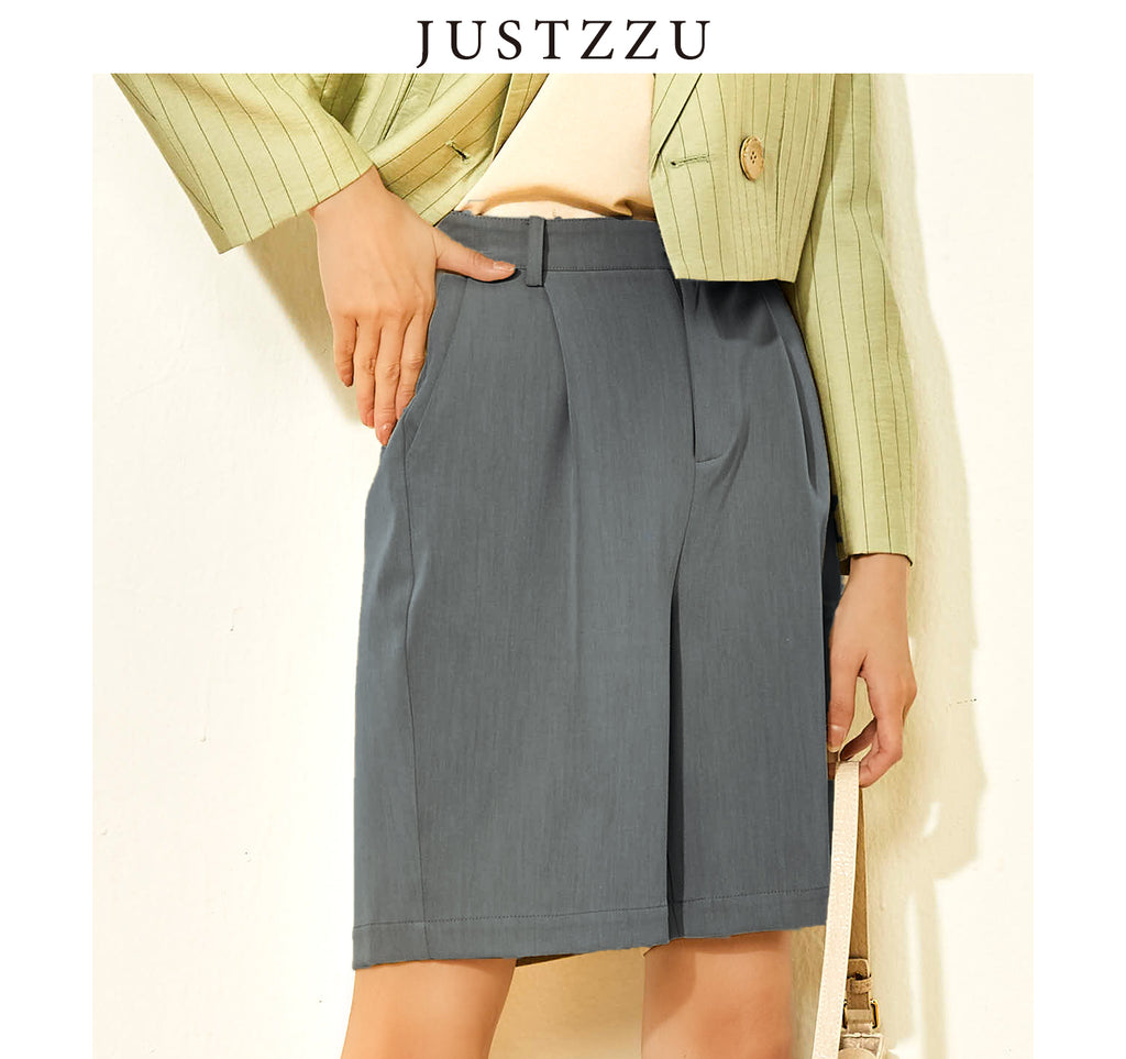 JUSTZZU Women Casual Shorts