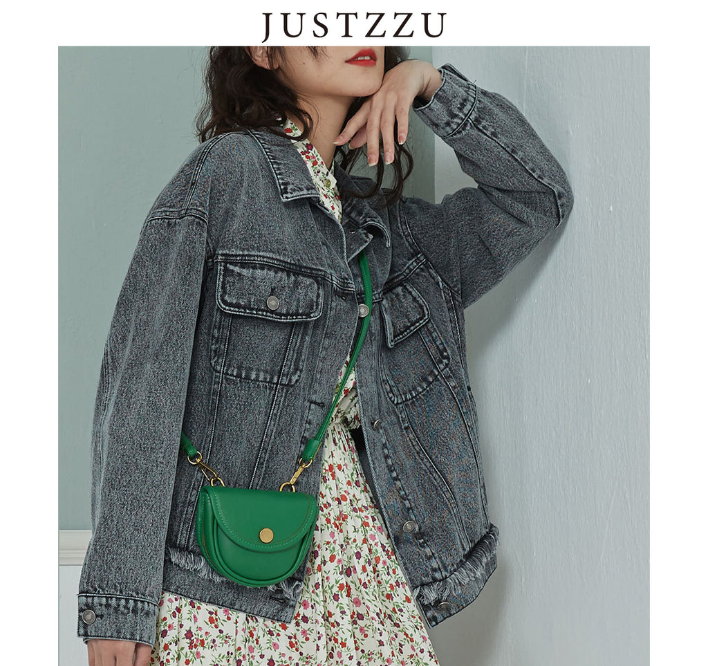 JUSTZZU Women Denim Jackets