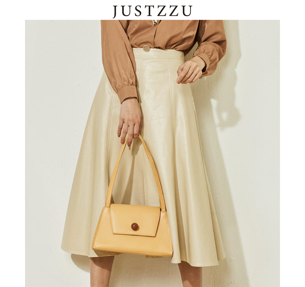 JUSTZZU Women Mini Skirt
