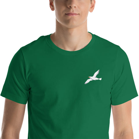 Seagull82 Embroidered tee
