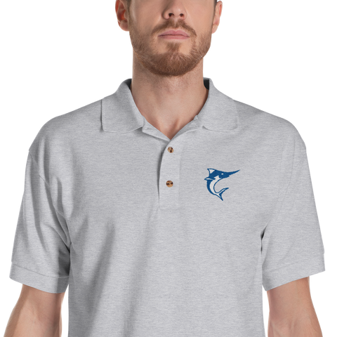 NQ Marlins Embroidered polo