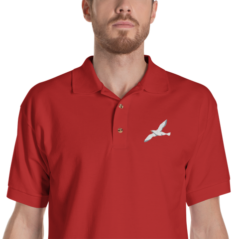 Seagull82 Embroidered polo